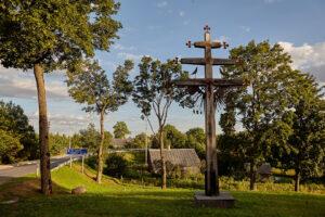Kalvystės ir kryždirbystės kūriniai Užvenčio dvaro sodyboje