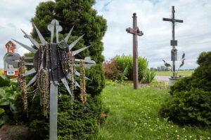 Kryžių sankaupa Švč. Mergelės Marijos apsireiškimo vietoje